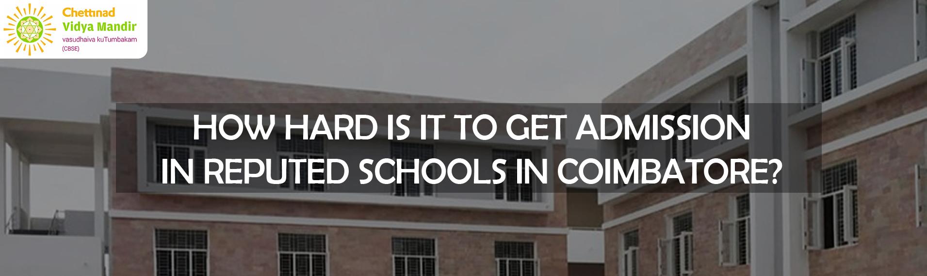 School Admission in Coimbatore